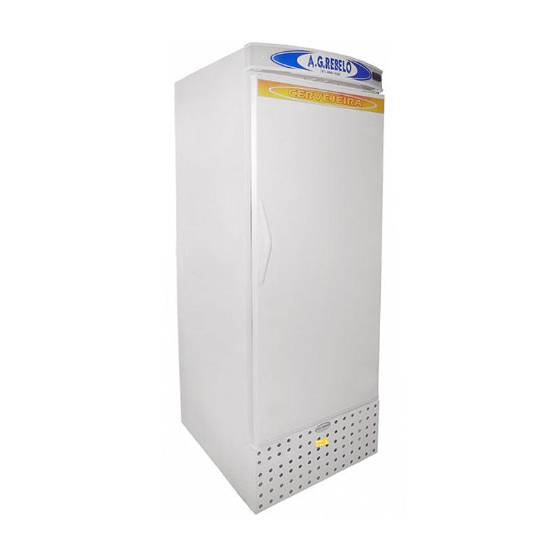 Refrigerador Vertical de Ar Forçado com Porta Cega