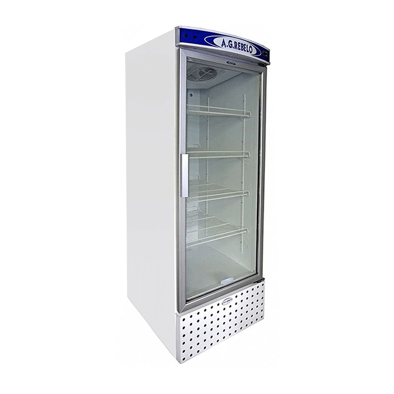 Refrigerador Vertical de Ar Forçado com Porta de Vidro Não Aquecida