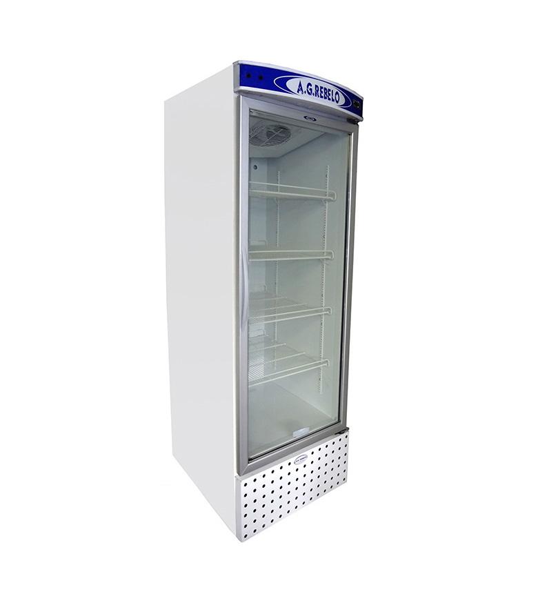 Refrigerador Vertical de Ar Forçado com Porta de Vidro