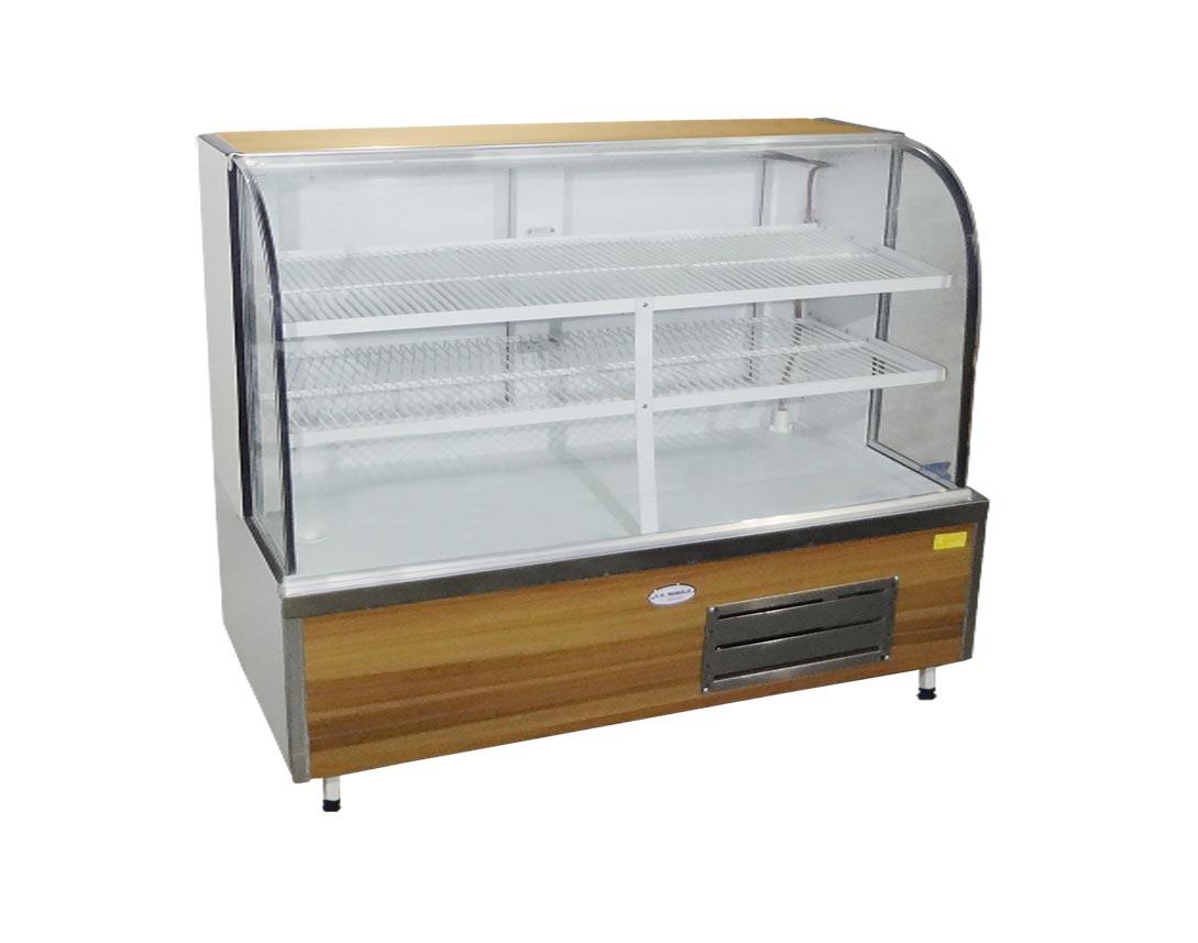 Balcão Refrigerado de Vidro Curvo Universal