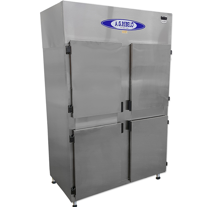 Refrigerador Inox de 4 Portas